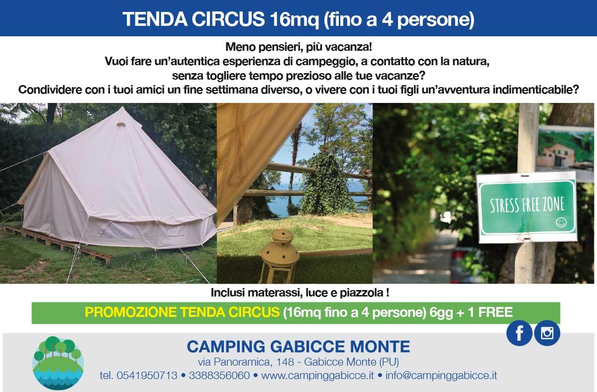 tenda circus a noleggio